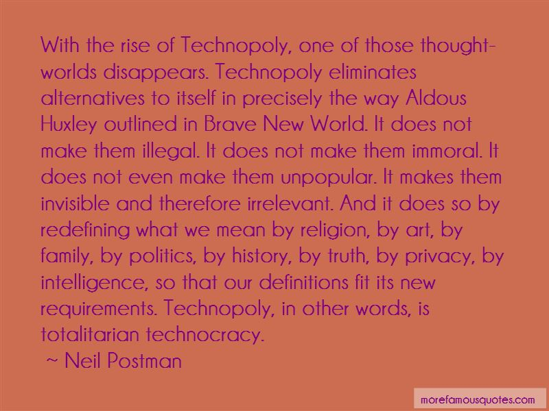 Quotes About Brave New World