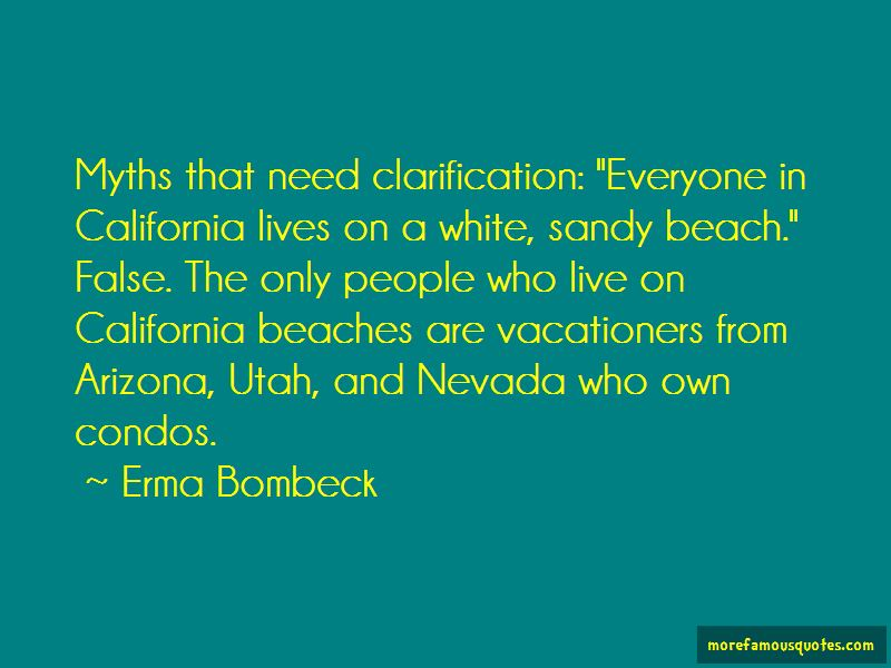 Quotes About California Beaches