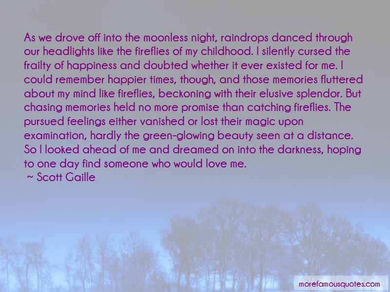 Quotes About Catching Fireflies