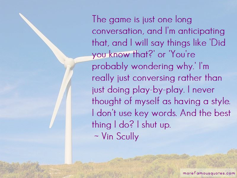 Quotes About Conversing