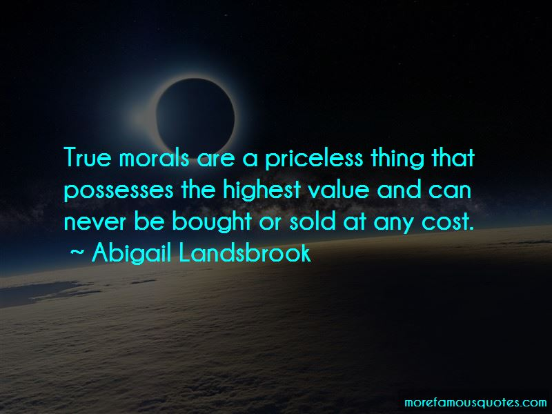 Quotes About Cost And Value