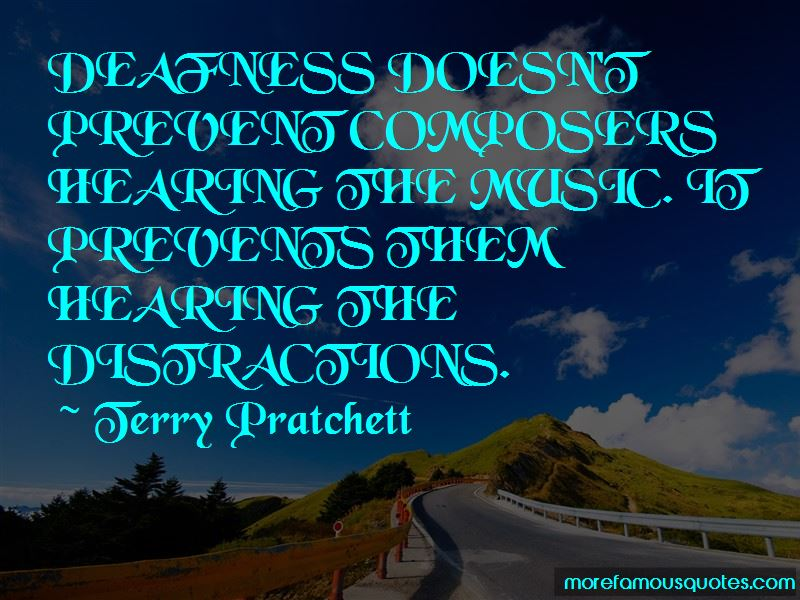 Quotes About Deafness And Music
