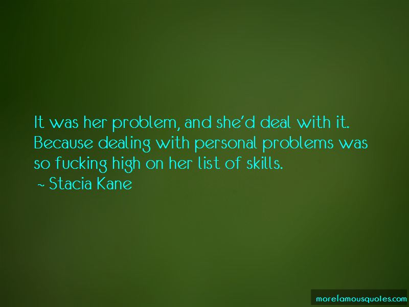 Quotes About Dealing With Personal Problems
