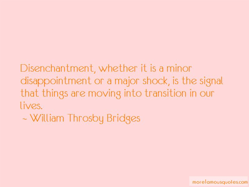 Quotes About Disenchantment