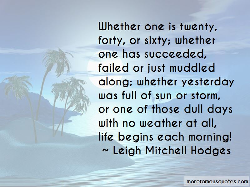 Quotes About Dull Weather
