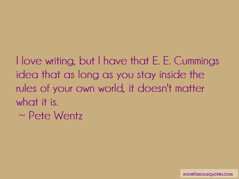 Quotes About E E Cummings