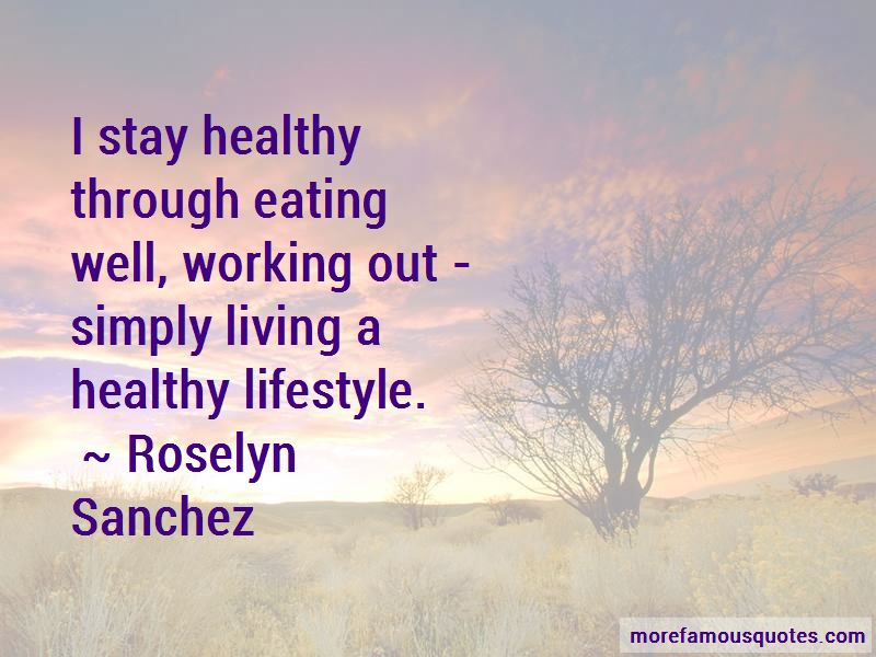 Quotes About Eating Healthy And Working Out