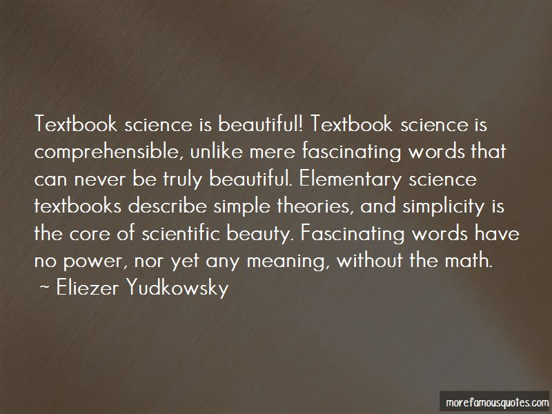 Quotes About Elementary Science