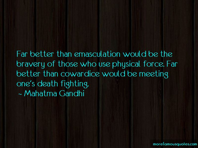 Quotes About Emasculation