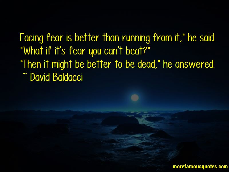 Quotes About Facing Fear