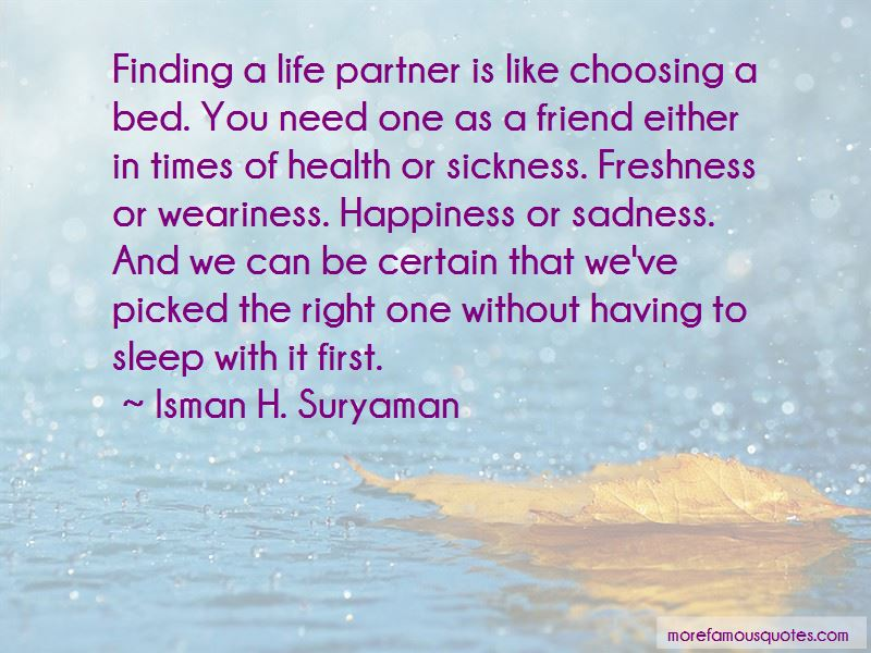 Finding The Right Partner Quotes Pictures 3