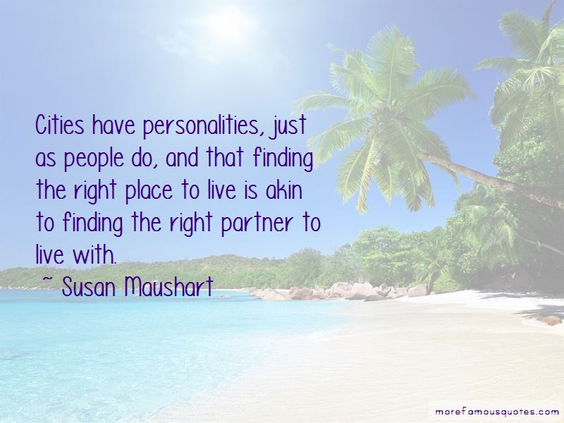 Quotes About Finding The Right Partner