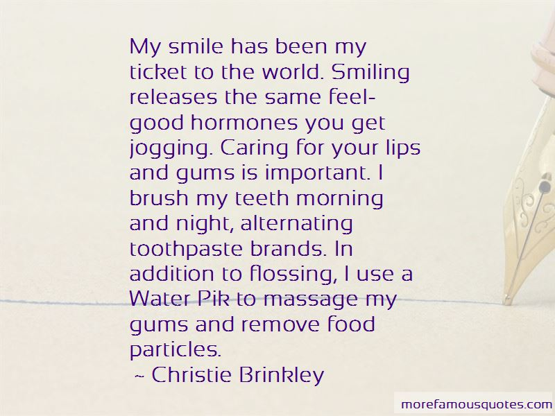 Flossing Your Teeth Quotes Pictures 2