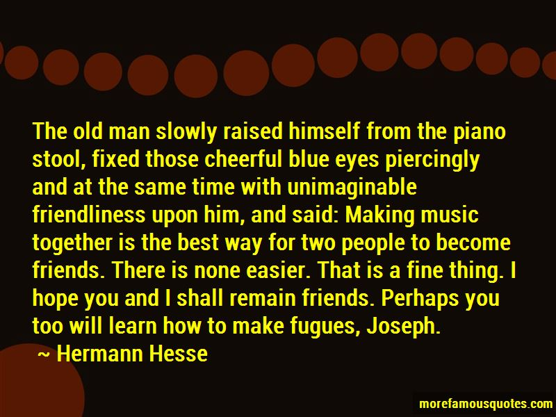 Quotes About Fugues