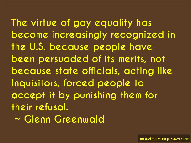Quotes About Gay Equality