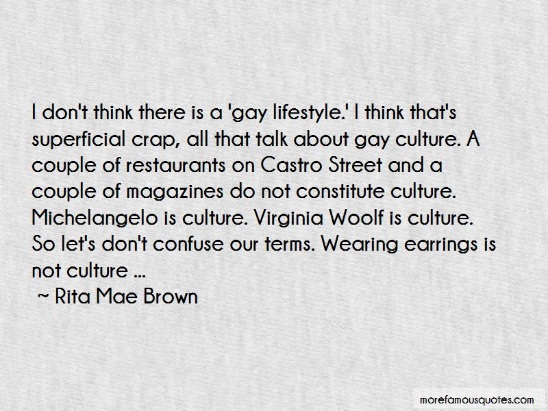 Quotes About Gay Lifestyle