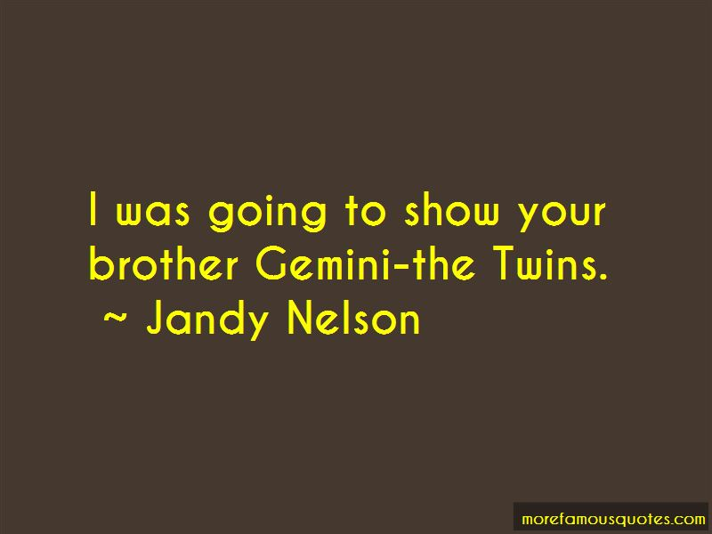 Quotes About Gemini Twins
