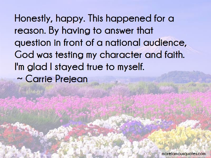 Quotes About God Testing Faith