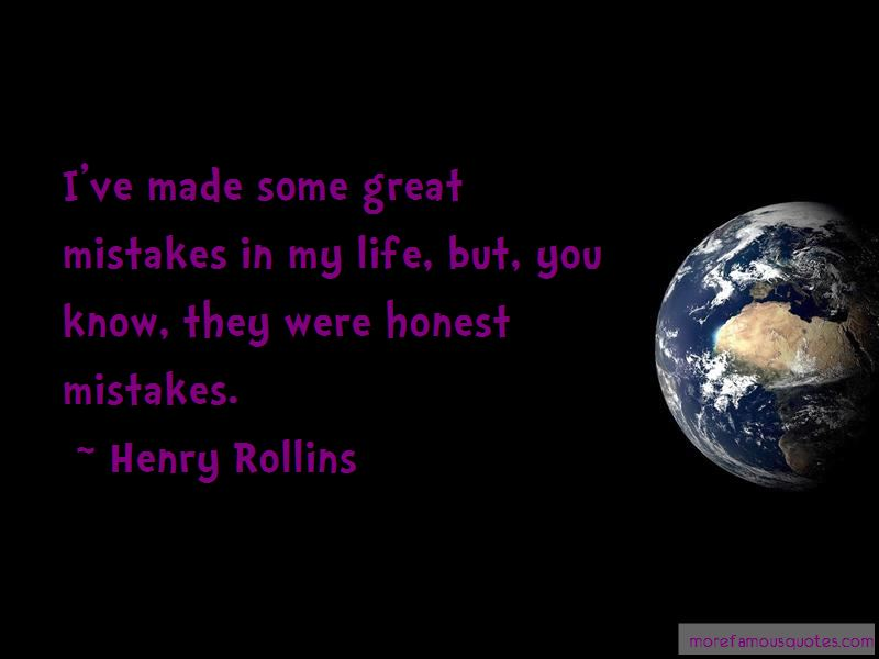 Honest Mistakes Quotes Pictures 2