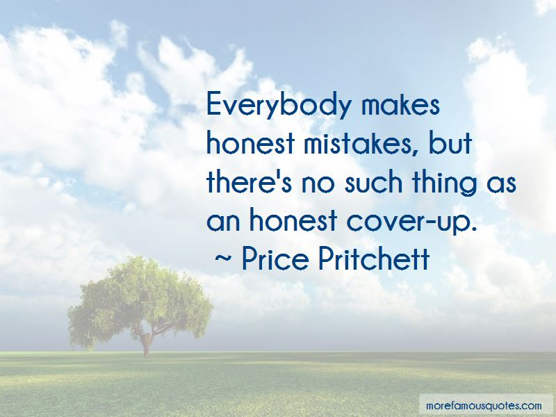 Quotes About Honest Mistakes