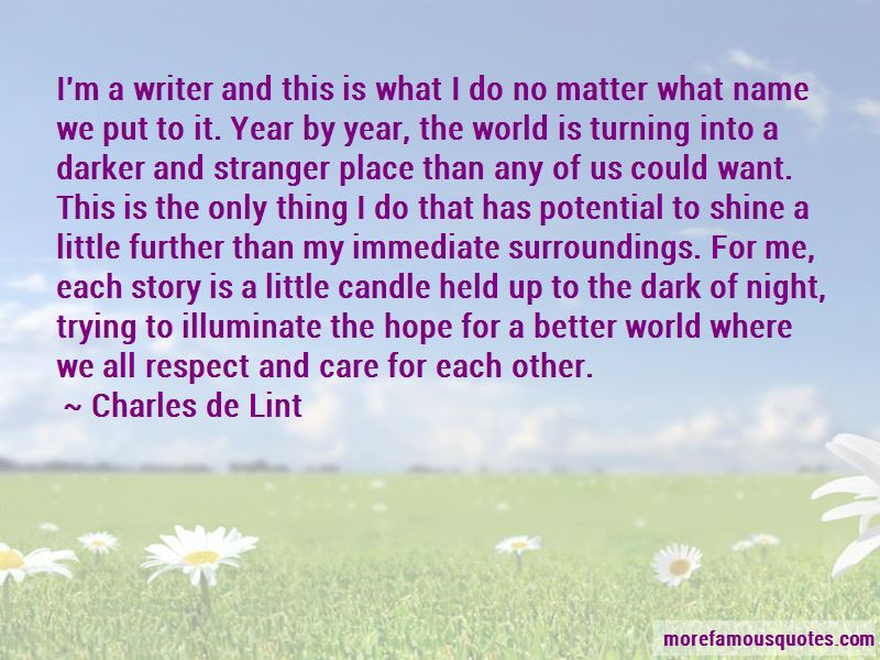 Quotes About Hope For A Better World