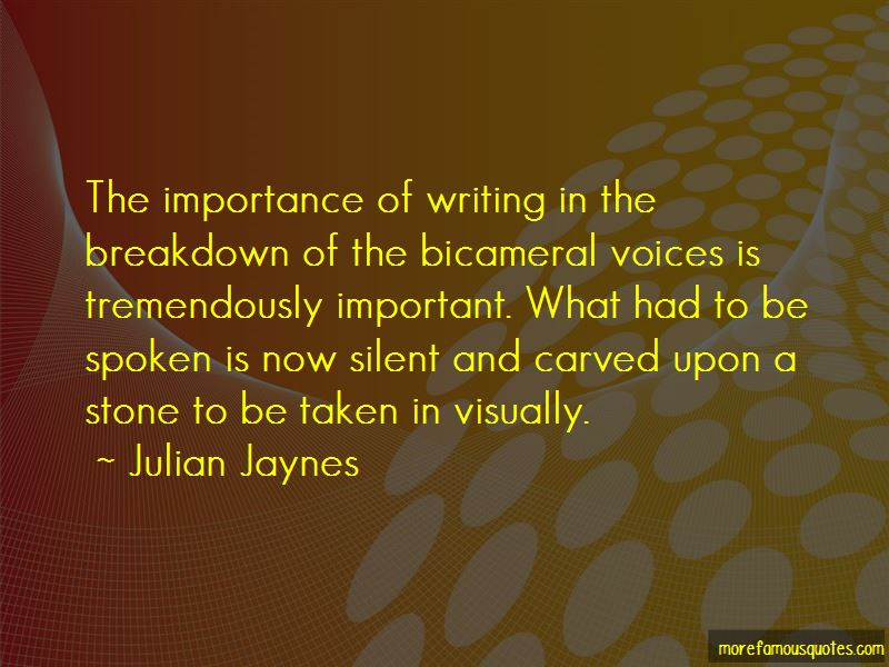 Quotes About Importance Of Writing