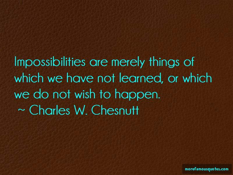 Quotes About Impossibilities