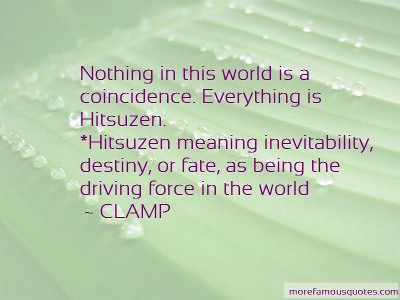 Inevitability Quotes Pictures 2