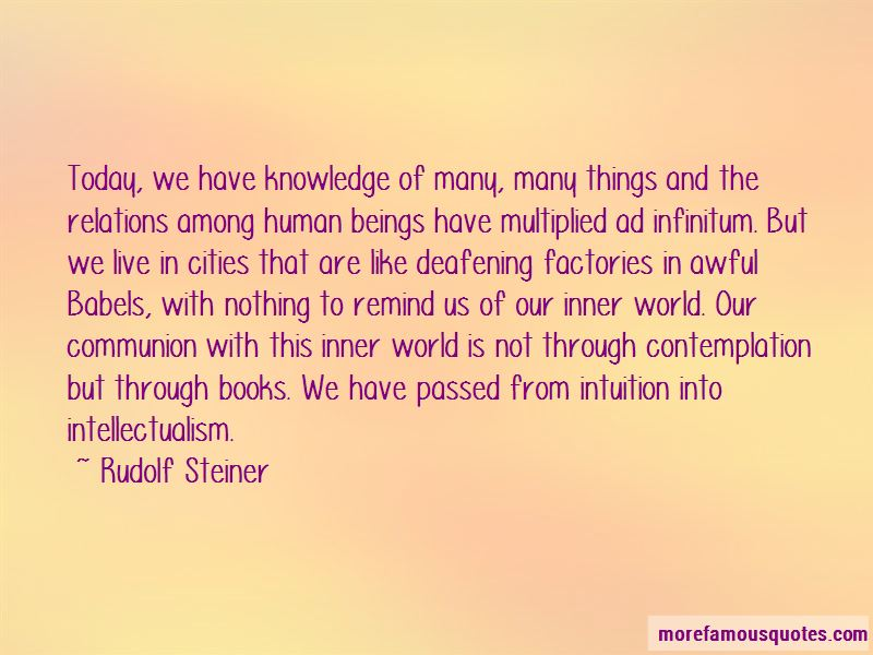 Intellectualism Quotes Pictures 3