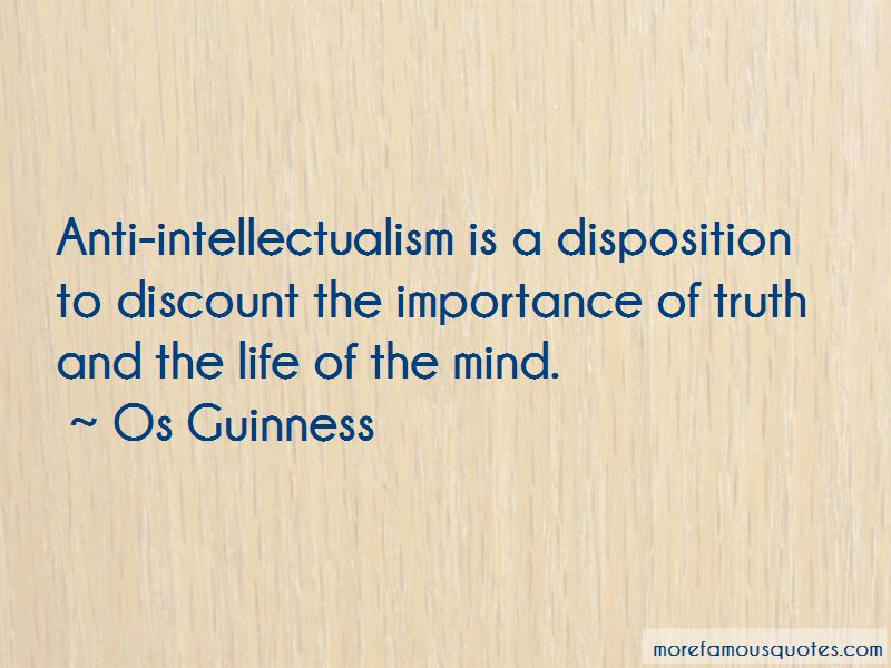 Quotes About Intellectualism