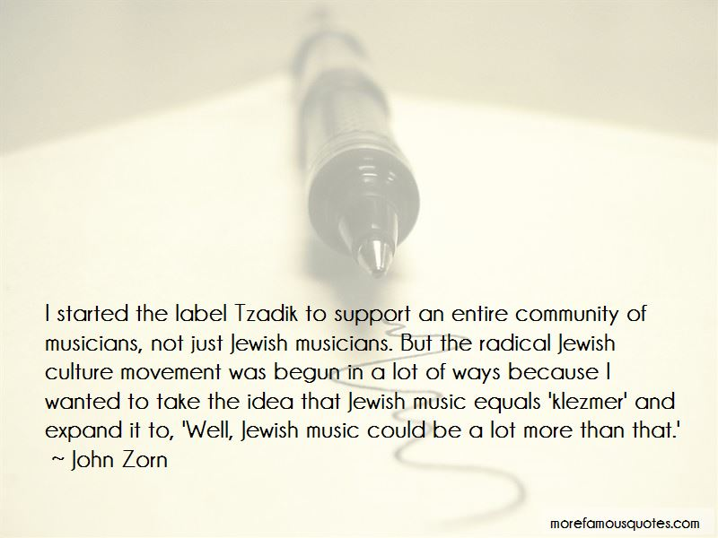 Quotes About Jewish Music