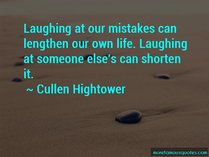 Quotes About Laughing At Mistakes