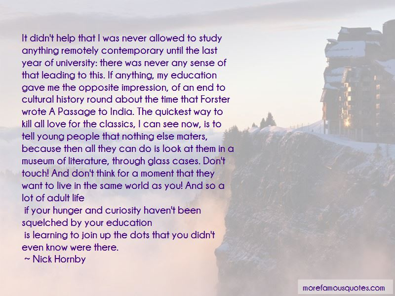 Quotes About Learning Through History