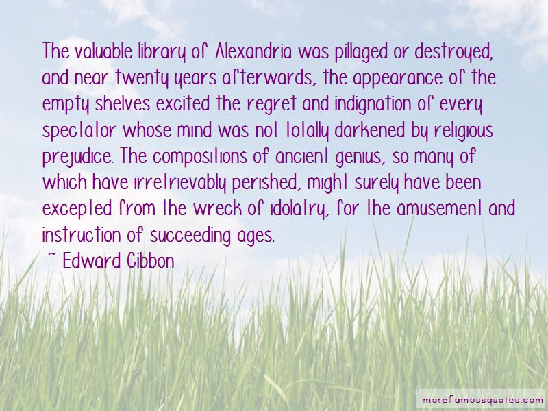 Quotes About Library Of Alexandria