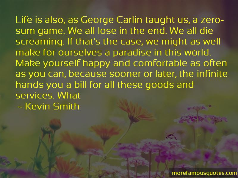 Quotes About Life George Carlin