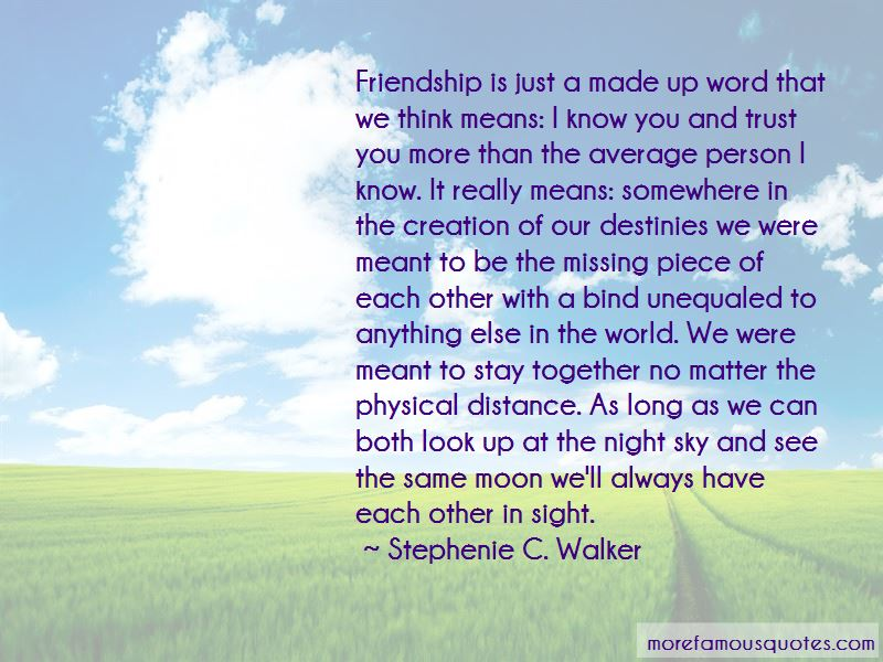 Quotes About Long Distance And Friendship