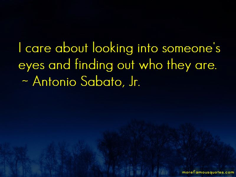 Quotes About Looking Into Someone's Eyes