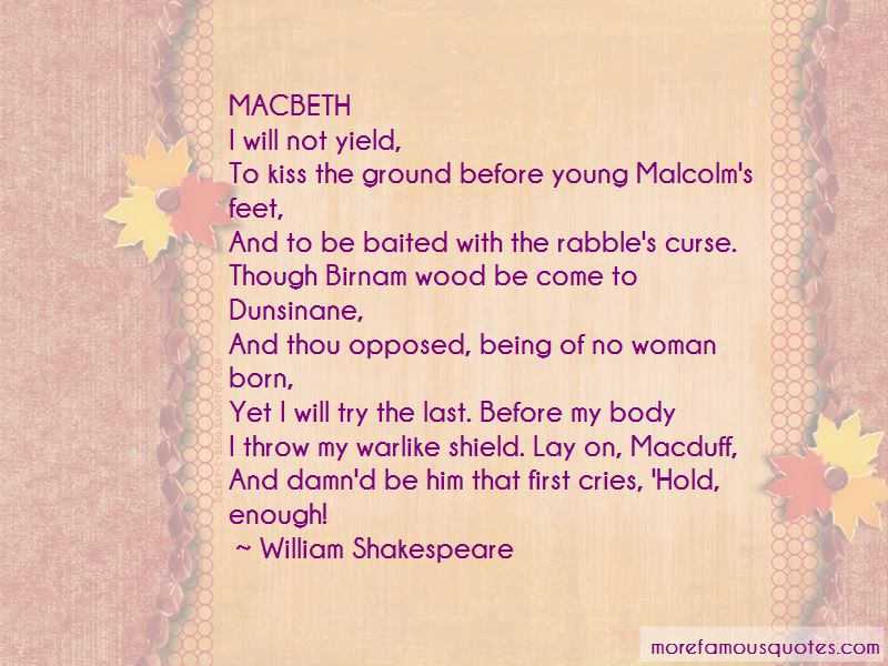 Quotes About Macduff In Macbeth