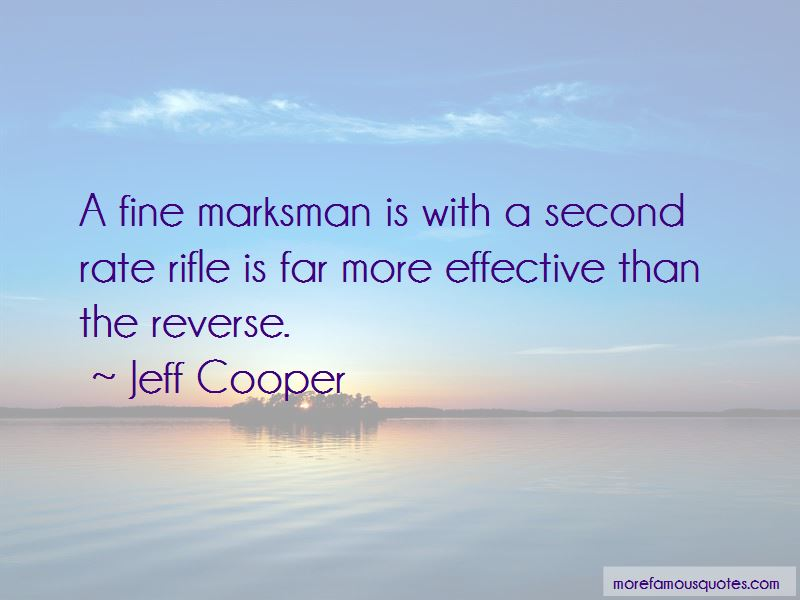Quotes About Marksman