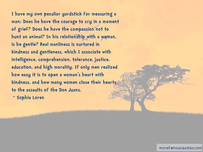 Quotes About Measuring A Man