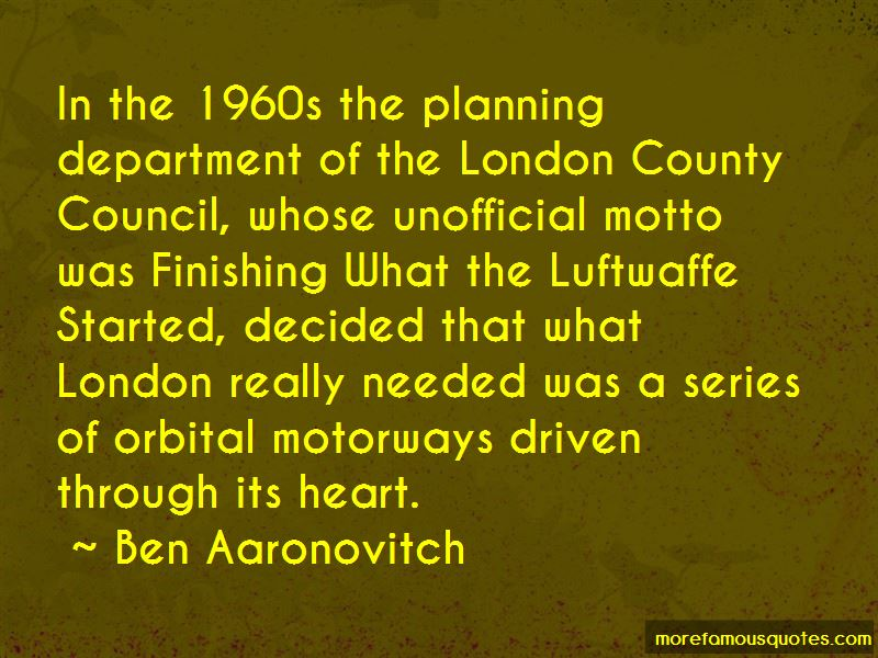 Quotes About Motorways
