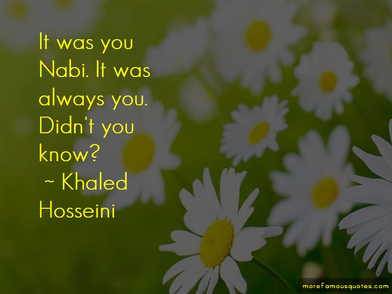 Quotes About Nabi