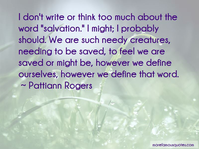 Quotes About Needing To Be Saved