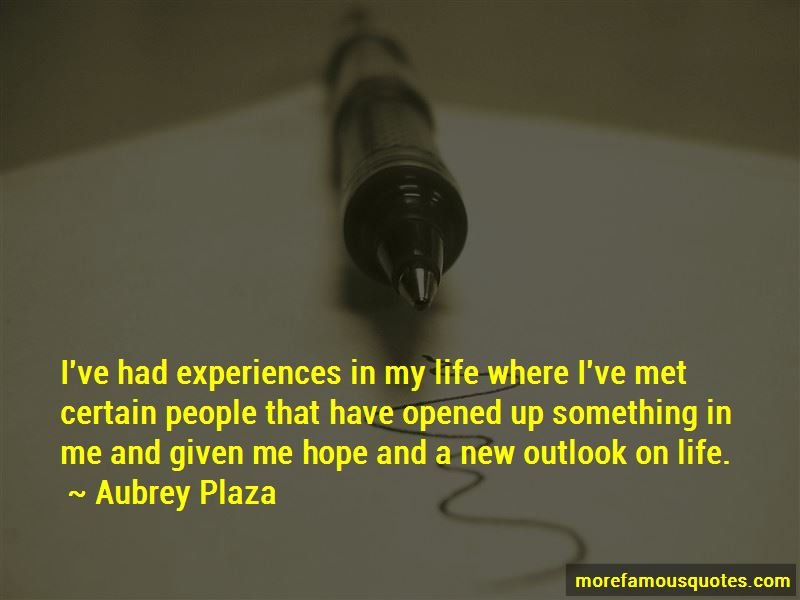 Quotes About New Outlook On Life