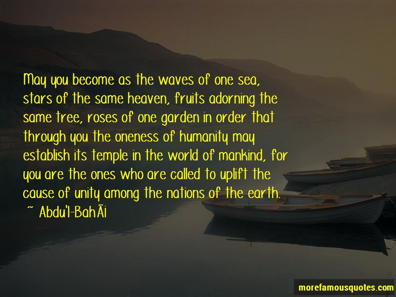 Quotes About Oneness Of Humanity