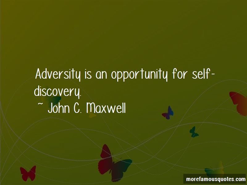 Opportunity In Adversity Quotes Pictures 4