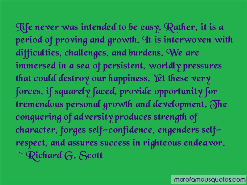 Quotes About Opportunity In Adversity