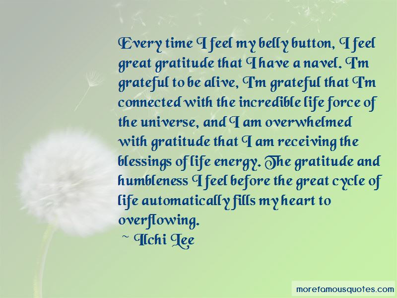 Quotes About Overflowing Blessings