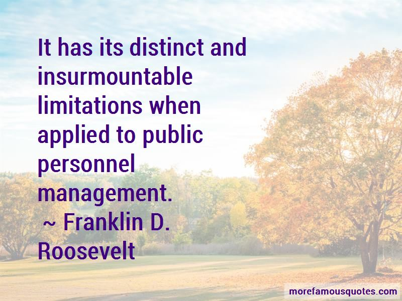Quotes About Personnel Management