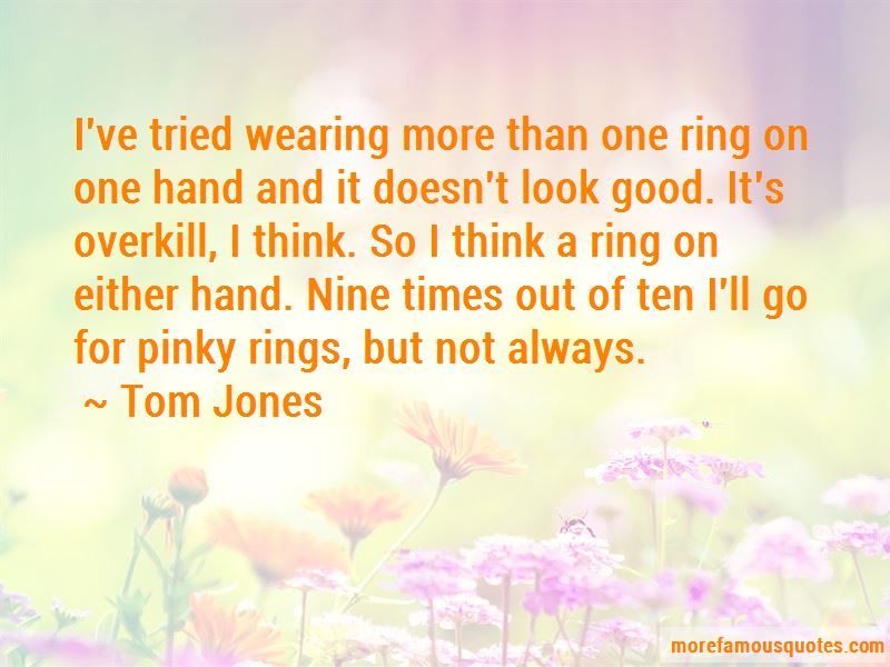 Quotes About Pinky Rings